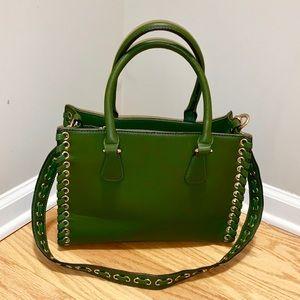 Leather with Gold Hardware Handbag. NWOT